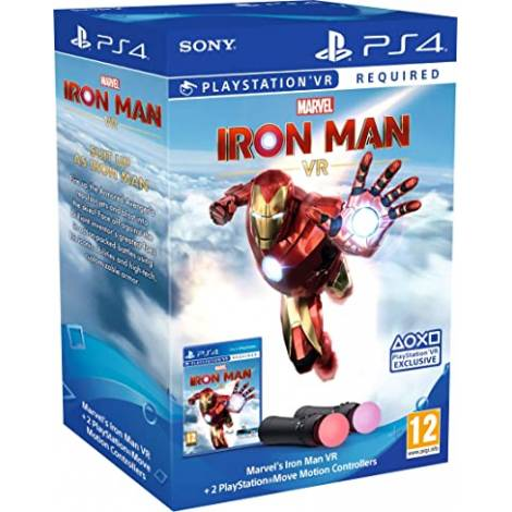 Marvel's Iron Man VR - Move Twin Pack Βundle (PSVR Required) (PS4)