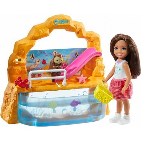 Mattel Barbie Club Chelsea - Chelsea and Aquarium Playset (GHV75)