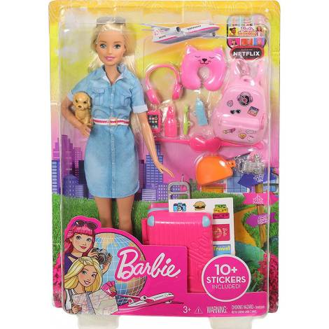 Mattel Barbie Dreamhouse Adventures - Swim n' Dive Doll And Accessories (GHK23)