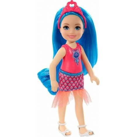Mattel Barbie Dreamtopia Chelsea Γοργόνα με Μπλε Μαλλιά (GJJ94)