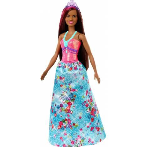 Mattel Barbie: Dreamtopia - Dark Skin Brunette Princess Doll (GJK15)