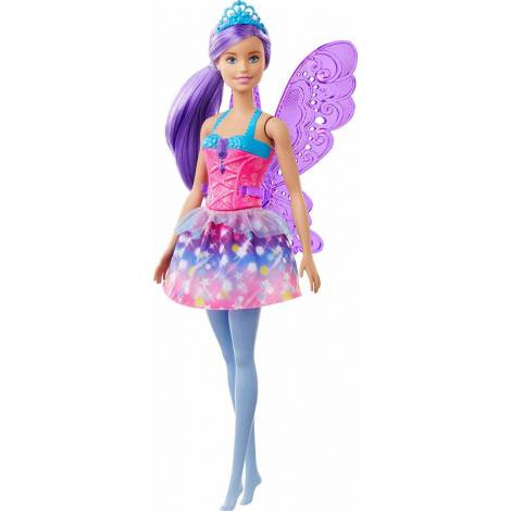 Mattel Barbie Dreamtopia - Fairy Doll with Purple Wings (GJK00)