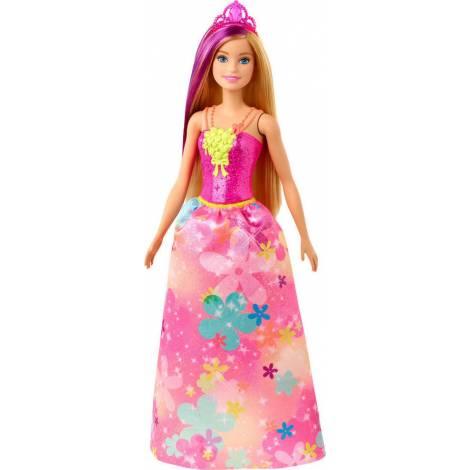 Mattel Barbie : Dreamtopia - Princess Doll Blonde With Purple Hairstreak (GJK13)