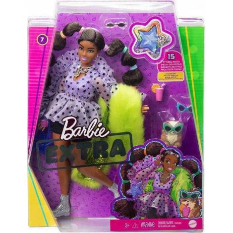 Mattel Barbie Extra: Bobble Hair (GXF10)