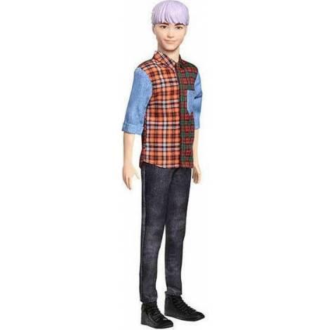 Mattel Barbie Fashionistas : Ken Doll #154 Sculpted Purple Hair Doll (GYB05)