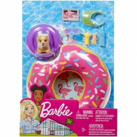 Mattel Barbie Furniture and Accessories - Donat Floaty Pack Playset (FXG38)