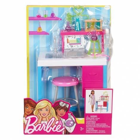 Mattel Barbie - Η καριέρα της Barbie : Εργαστήριο σετ έπιπλα (FJB28)