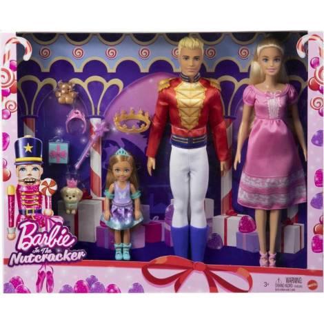 Mattel Barbie Πριγκίπισσα Καρυοθραύστης Σετ (GXD61)