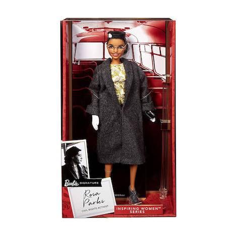 Mattel Barbie Signature Inspiring Women Series - Rosa Parks Civil Rights Activist (FXD76)