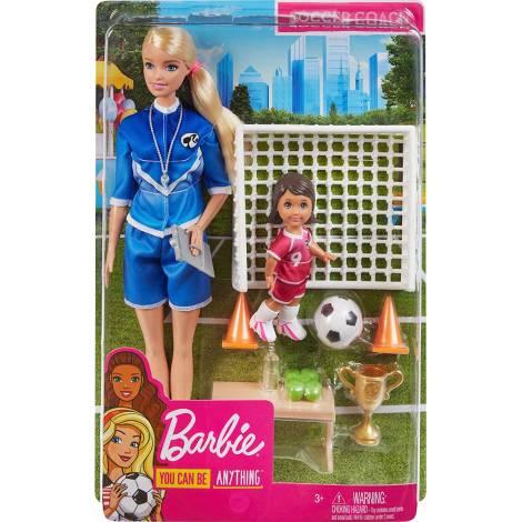 Mattel Barbie: Soccer Coach (GLM47)