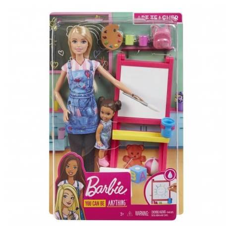 Mattel Barbie: You Can be Anything - Art Teacher (GJM29)