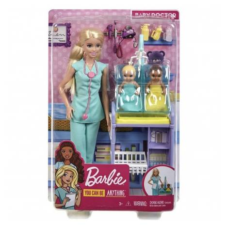 Mattel Barbie: You Can be Anything - Baby Doctor Doll (GKH23)