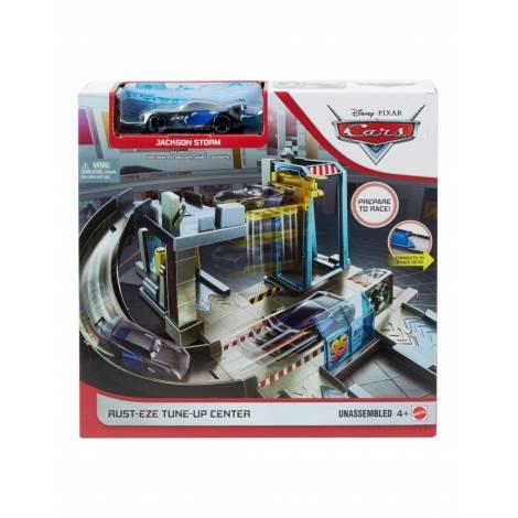 Mattel Disney Cars: Rust-Eze Tune-Up Center with Jackson Storm (GJW43)