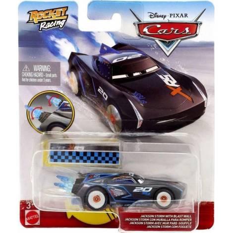 Mattel Disney Cars: XRS Rocket Racing - Jackson Storm with Blast Wall (GKB90)