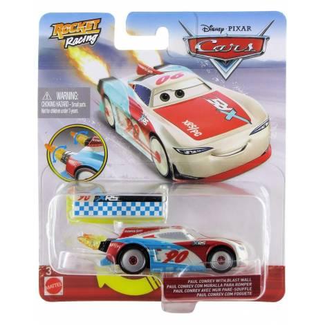 Mattel Disney Cars: XRS Rocket Racing - Paul Conrev with Blast Wall (GKB94)