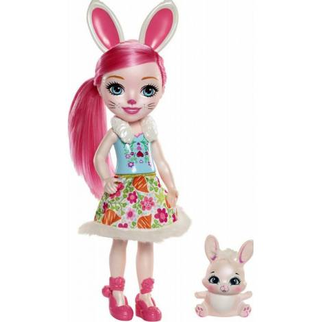 Mattel Enchantimals Huggable Cuties Big Doll - Bree Bunny & Twist (30cm) (FRH52)