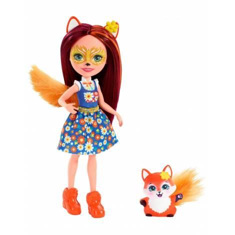 Mattel Enchantimals Mini Doll - Felicity Fox Flick (FXM71)