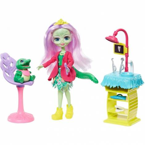 Mattel Enchantimals - Smilin Dentist And Animal Friend Andie Playset (GFN55)