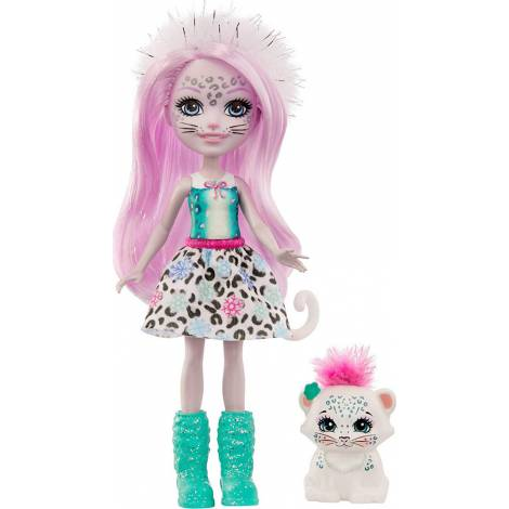 Mattel Enchantimals - Sybill Snow Leopard & Flake (GJX42)