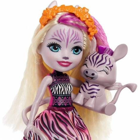 Mattel Enchantimals - Zadie Zebra & Ref (GTM27)