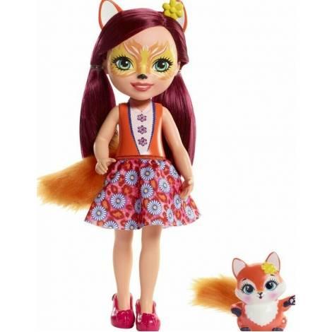 Mattel Enchantimals Huggable Cuties Big Doll - Felicity Fox & Flick (30cm) (FRH53)