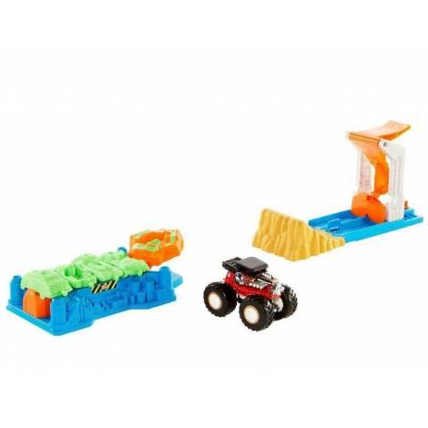 Mattel Hot Wheels: Monster Trucks - Launch & Bash Play Set (GVK08)