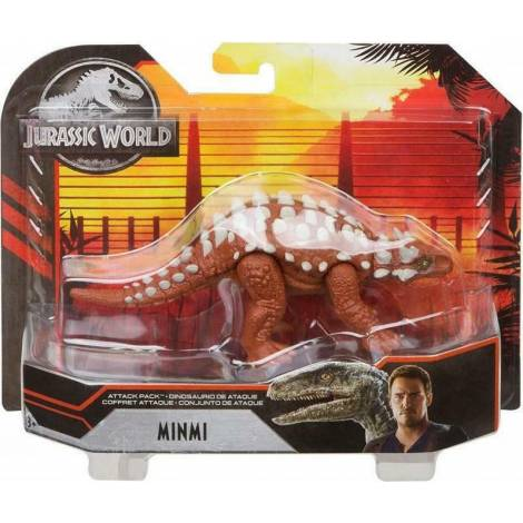 Mattel Jurassic World: Attack Pack - Minmi Figure (GJN60)