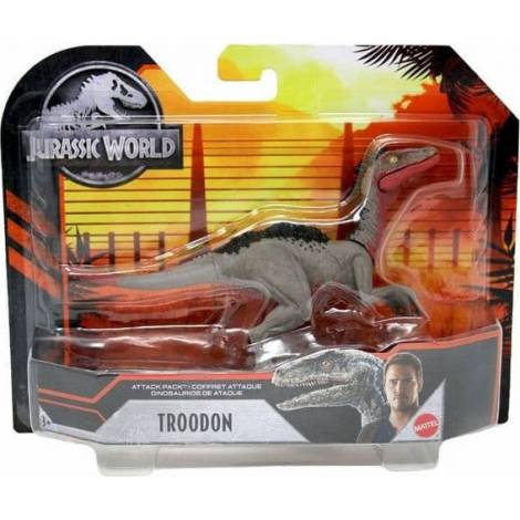 Mattel Jurassic World: Attack Pack - Troodon Figure (GVF32)