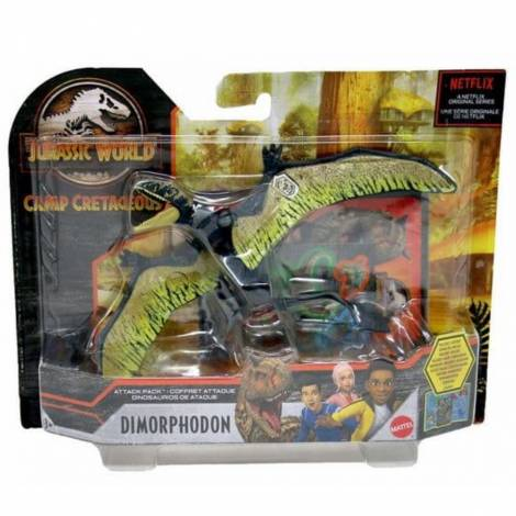 Mattel Jurassic World Camp Cretaceous: Attack Pack - Dimorphodon Figure (GVF33)