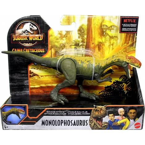 Mattel Jurassic World Camp Cretaceous: Dino Rivals Savage Strike - Monolophosaurus (GVG51)