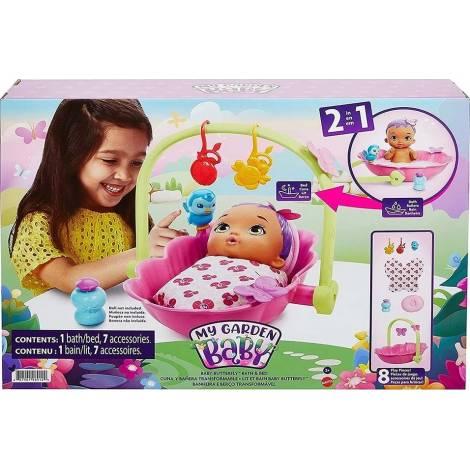 Mattel My Garden Baby : Baby Butterfly Bath Bed (HBH46)