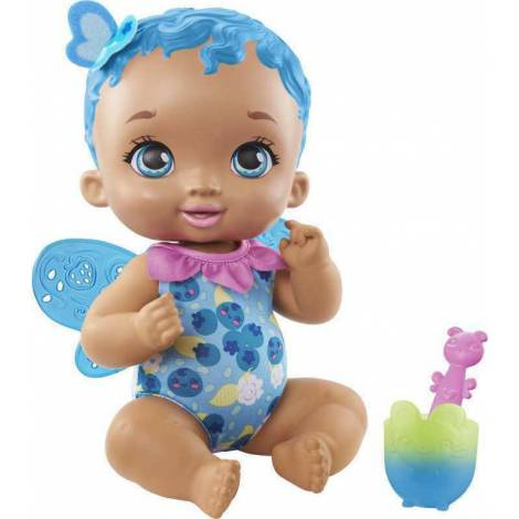 Mattel - My Garden Baby : Berry Hungry Baby Butterfly Blue Hair (GYP01)