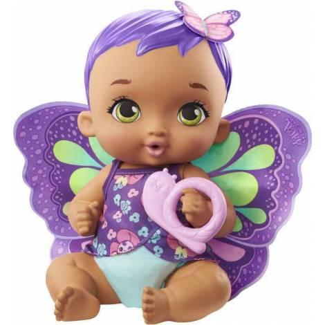 Mattel My Garden Baby : Feed Change Baby Butterfly Purple Hair (GYP11)