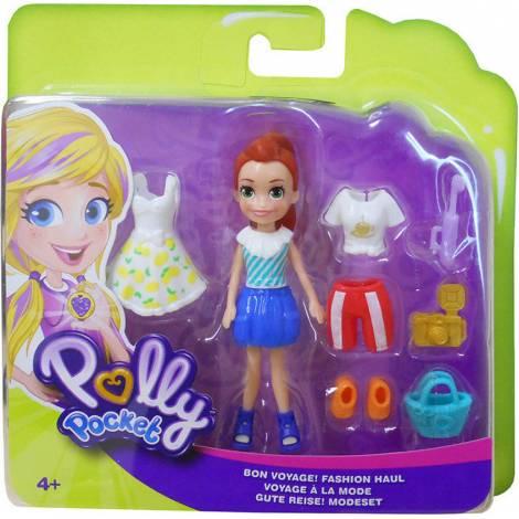 Mattel Polly Pocket - Bon Voyage! Fashion Haul (GFT91)