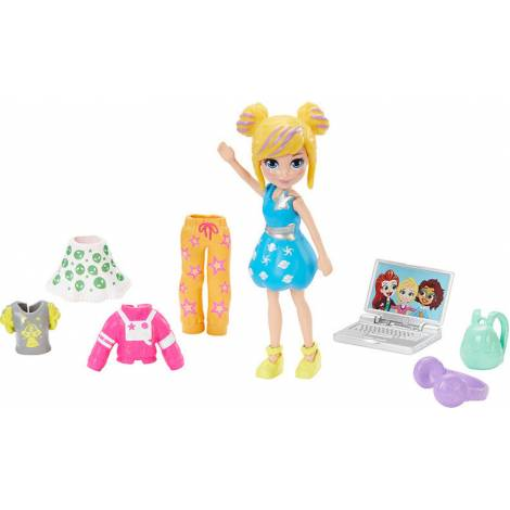 Mattel Polly Pocket - Cosmo Cutie Fashion Pack (GNG73)