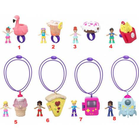 Mattel Polly Pocket - Tiny Takeaway Accessories Blind Bag (Random) (GHL06)