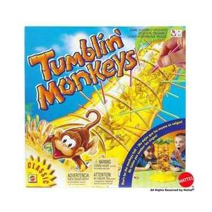 MATTEL TUMBLIN' MONKEYS - GAME (52563)