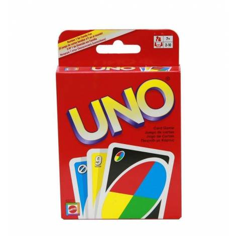 MATTEL UNO CARDS - CARD GAME (W2087) - με χτυπημένο κουτάκι