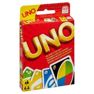 MATTEL UNO CARDS - CARD GAME (W2087)