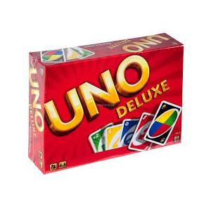 MATTEL UNO DELUXE - CARD GAME (53610)