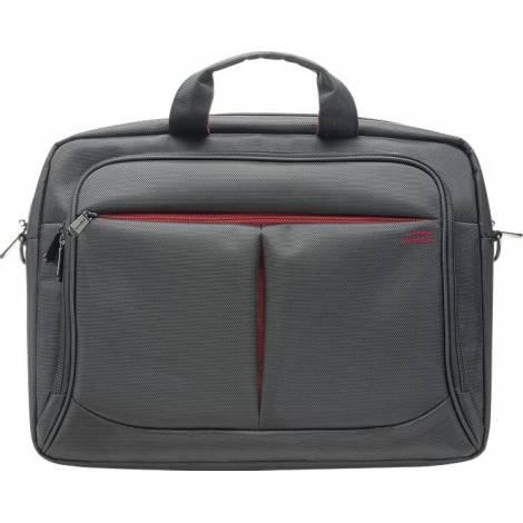 Μαύρη τσάντα για laptop έως 15,6