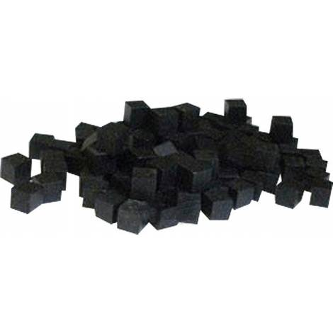 Mayday - 10 MM Wooden Cube Tokens (100 Pack) -Black (MDG-7048)