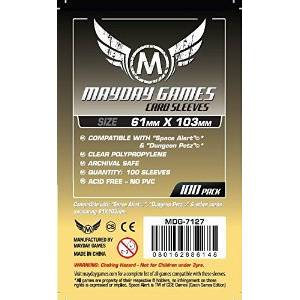 Mayday Sleeves 61x103mm 100 pack