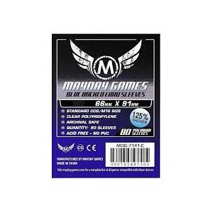 Mayday Sleeves 66x91 80 Pack - Blue