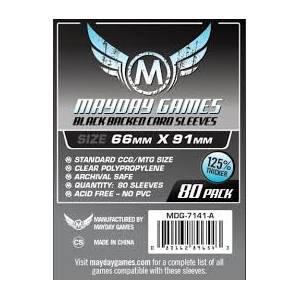 Mayday Sleeves 66x91 80 Pack - Grey