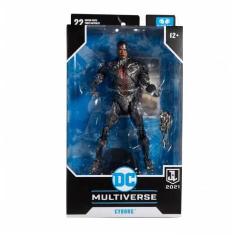 McFarlane DC Justice League Movie - Cyborg Action Figure (18cm)