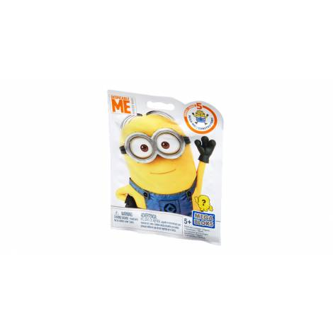 MATTEL MEGA BLOKS - MINIONS MINI FIGURES SERIES 5 (BLIND BAG) (DKW82)