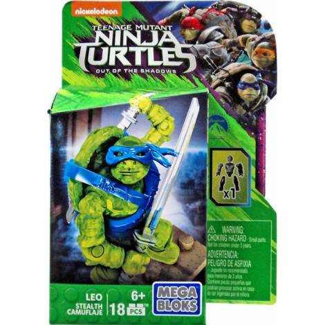 MEGA BLOKS - TEENAGE MUTANT NINJA TURTLES OUT OF THE SHADOWS - LEO (DPW13)