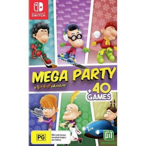 Mega Party: A Tootuff Adventure (Nintendo Switch)