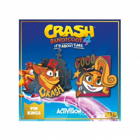 MER Numskull Official Crash Pin Kings  1.1